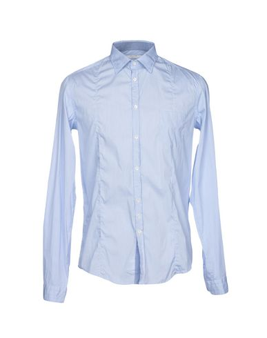 2014 unisexe rabais combien en ligne Chemises Rayées Aglini iA7l82M