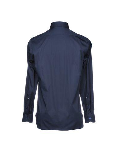Peu coûteux jeu Luigi Borrelli Napoli Camisa Lisa à bas prix o2b9vGF
