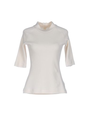 Mm6 Maison Margiela Top Cuello visite de dégagement zoJrn0