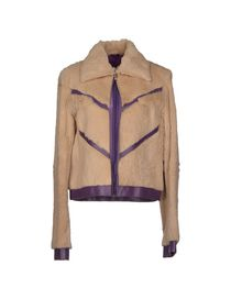 VERSACE JEANS COUTURE - Fur outerwear