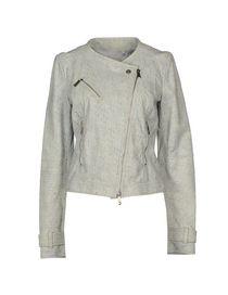 PINKO GREY - Biker jacket