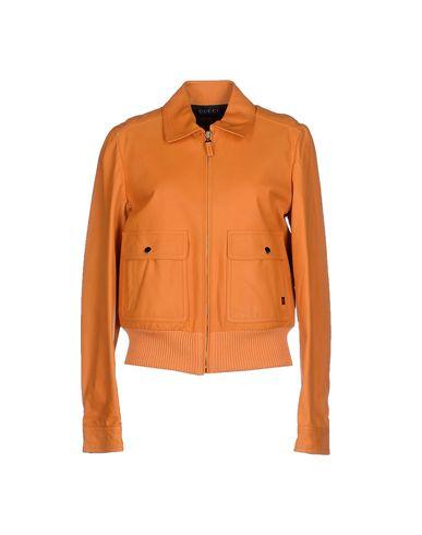 Пальто и куртки Кожаные куртки GUCCI