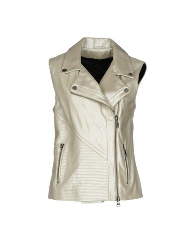 Veste En Cuir Karl Lagerfeld magasin en ligne vente abordable visite libre d'expédition commercialisable Dyfw9u