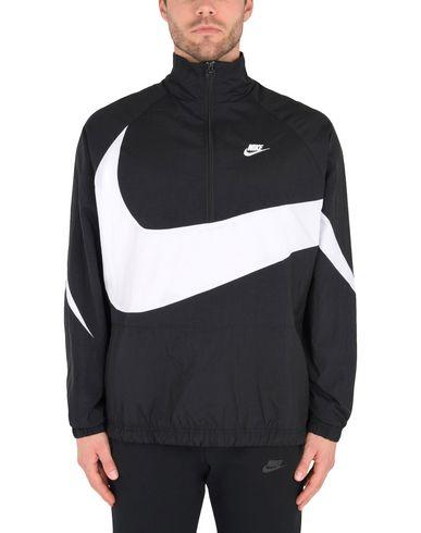 Nike Swoosh Tissé Moitié Veste Zip Cazadora dédouanement bas prix professionnel à vendre dégagement images de sortie fWTEl