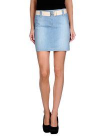 COTTON BELT - Denim skirt