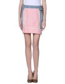 BLUMARINE - Denim skirt