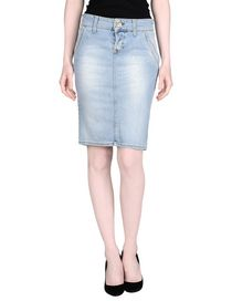TWO WOMEN IN THE WORLD - Denim skirt