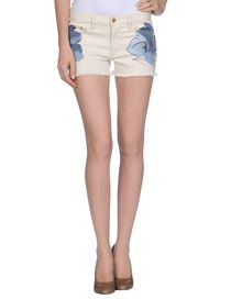 TORY BURCH - Denim shorts