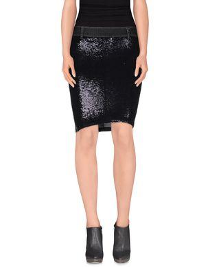 PINKO BLACK - Denim skirt