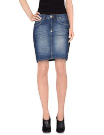 PHILIPP PLEIN - Denim skirt