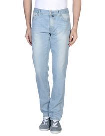 LUIGI BORRELLI NAPOLI - Denim pants