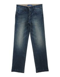 COTTON BELT - Denim pants