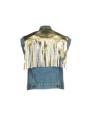 Veste En Jean Couture Forte réduction fiable jeu abordable vente 2014 vraiment pas cher HZ17k2w