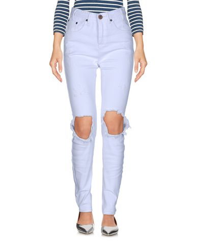 vente sortie jeu 2014 unisexe Une Oneteaspoon X Pantalones Vaqueros hB8NKWTlcC