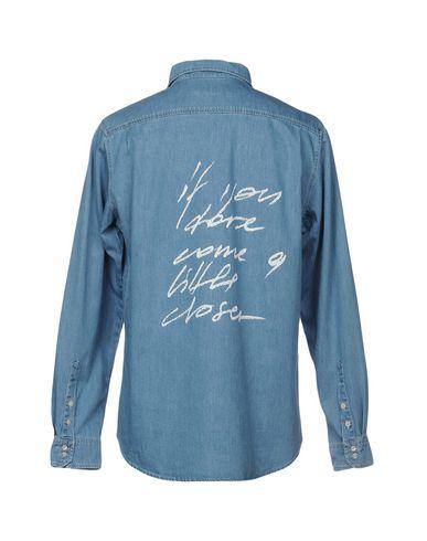 magasin de destockage La Peur Camisa Vaquera authentique 2015 nouvelle c7ZoM