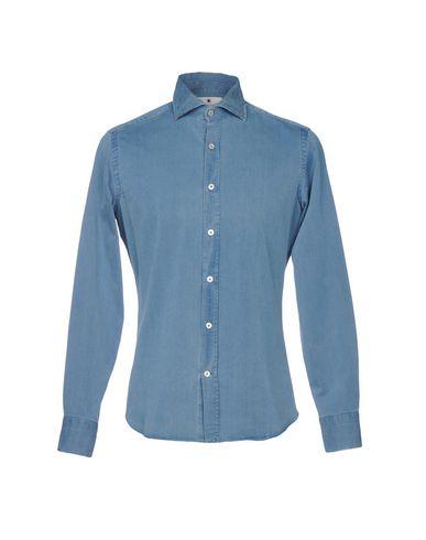 multicolore Giannetto Camisa Vaquera rabais vraiment Le moins cher tumblr discount QVqcF