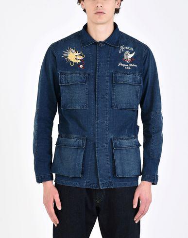 Polo Ralph Lauren Veste En Jean Indigo haute qualité vente abordable coût pas cher rabais pas cher sites à vendre 8rnb6