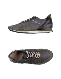 LEATHER CROWN - Low-tops