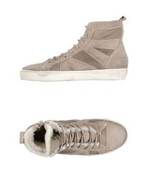 LEATHER CROWN - High-tops