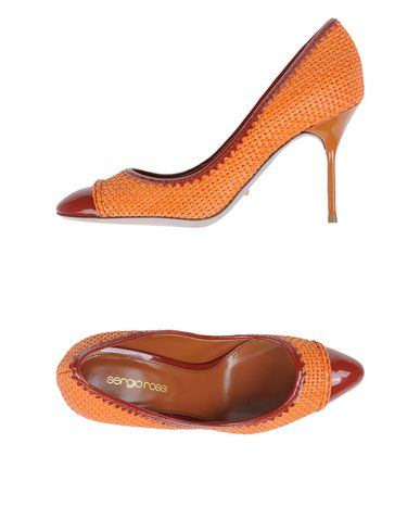 Оранжевые туфли 2015