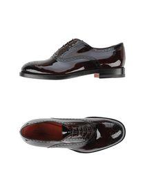 SANTONI - Laced shoes