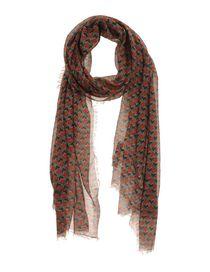 GREY DANIELE ALESSANDRINI - Oblong scarf