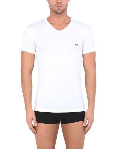 Emporio Armani Hommes Tricot T-shirt Intérieur Camiseta sortie 100% authentique choisir un meilleur PROMOS Livraison gratuite excellente sortie 0UqP2B