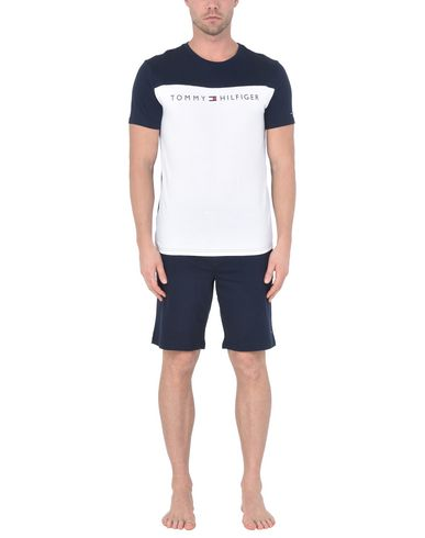 Tommy Hilfiger Set Court Ss Logo Pijama officiel à vendre meilleur prix magasin de LIQUIDATION sortie 2014 unisexe en ligne PCR6AA0LK