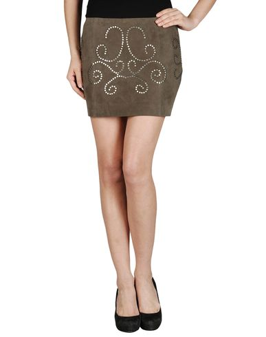 HAUTE HIPPIE - Leather skirt