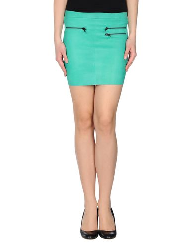 AMERICAN RETRO - Leather skirt