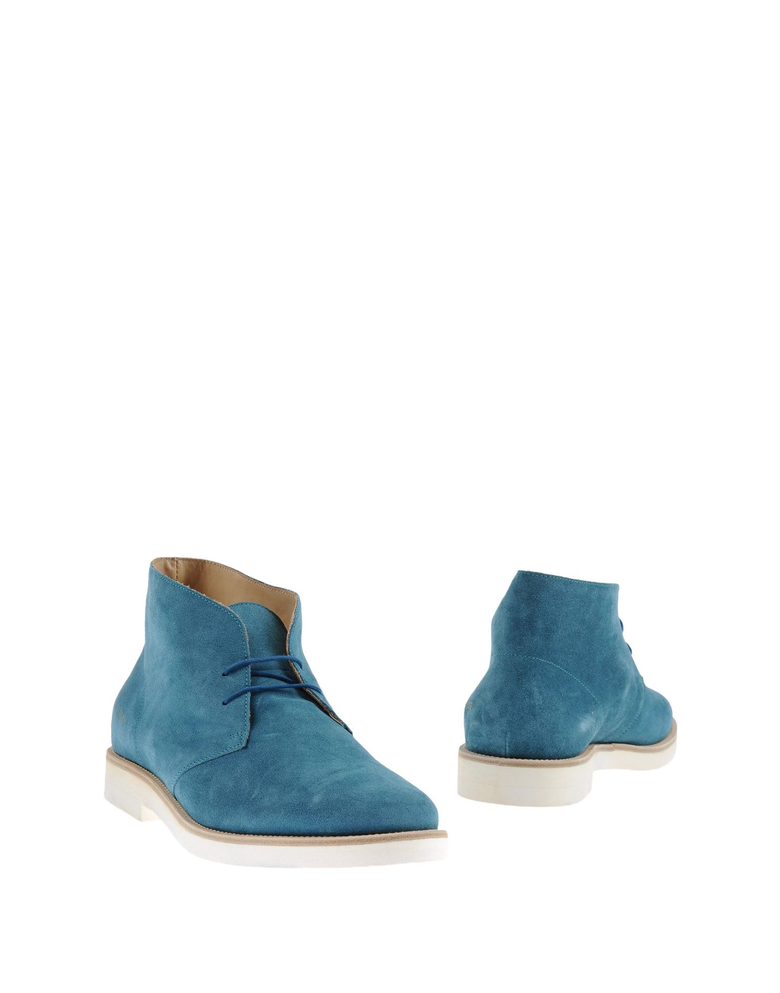 Common Projects Mens Suede Ankle Boots in Azure