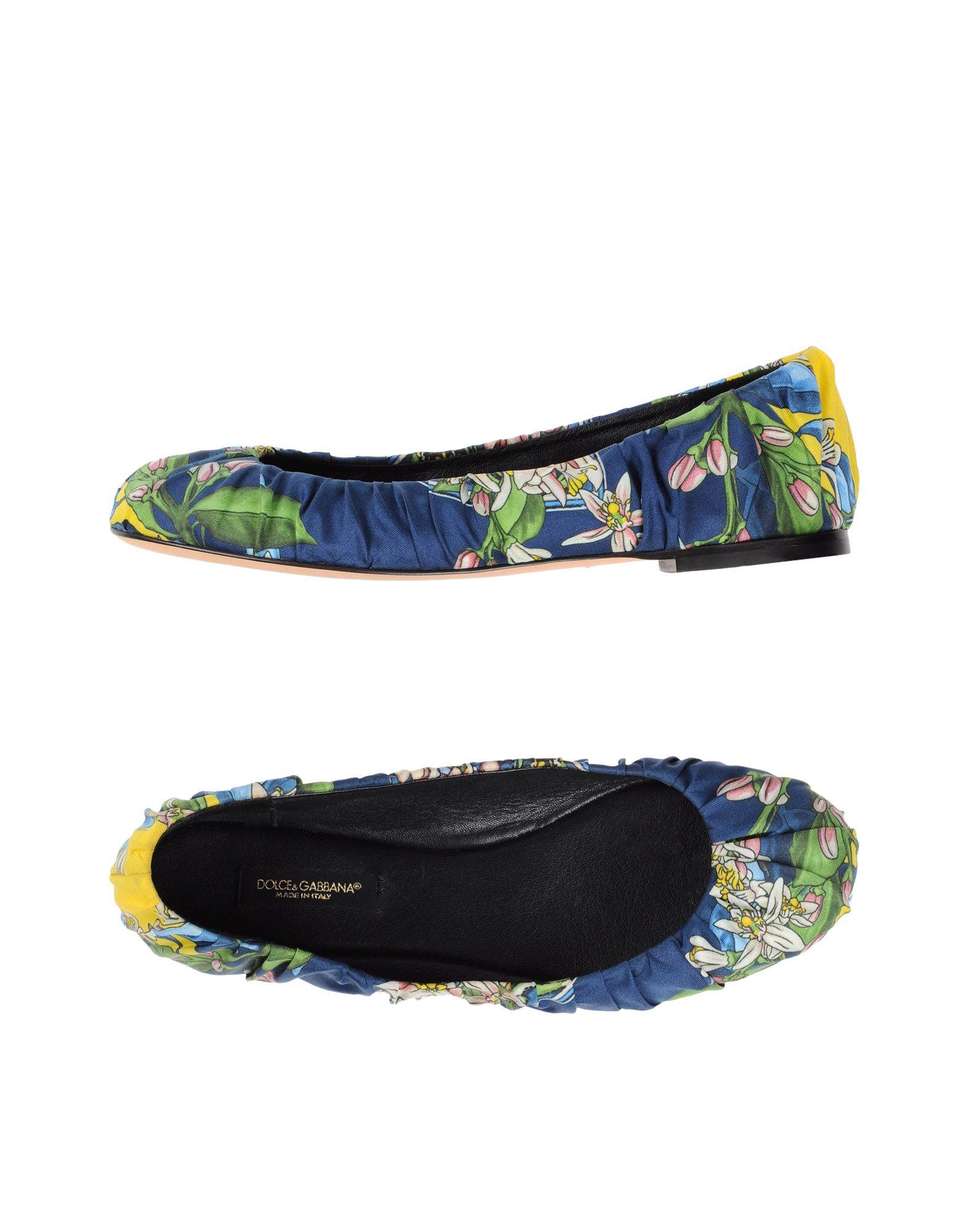 Dolce & & & Gabbana Ballerinas Damen  11002140EW Neue Schuhe c27698