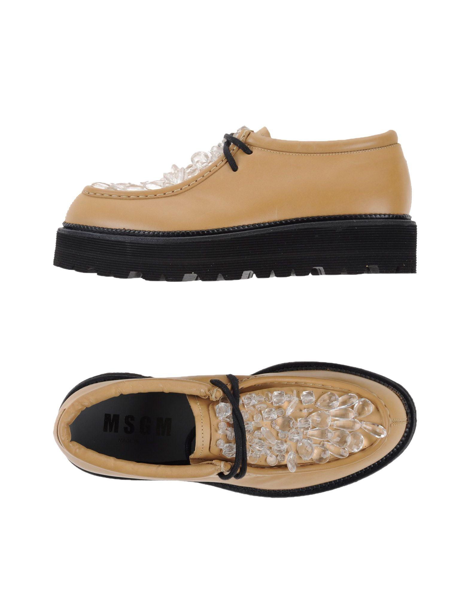 Rabatt Schuhe Msgm Schnürschuhe Damen  11003802HQ