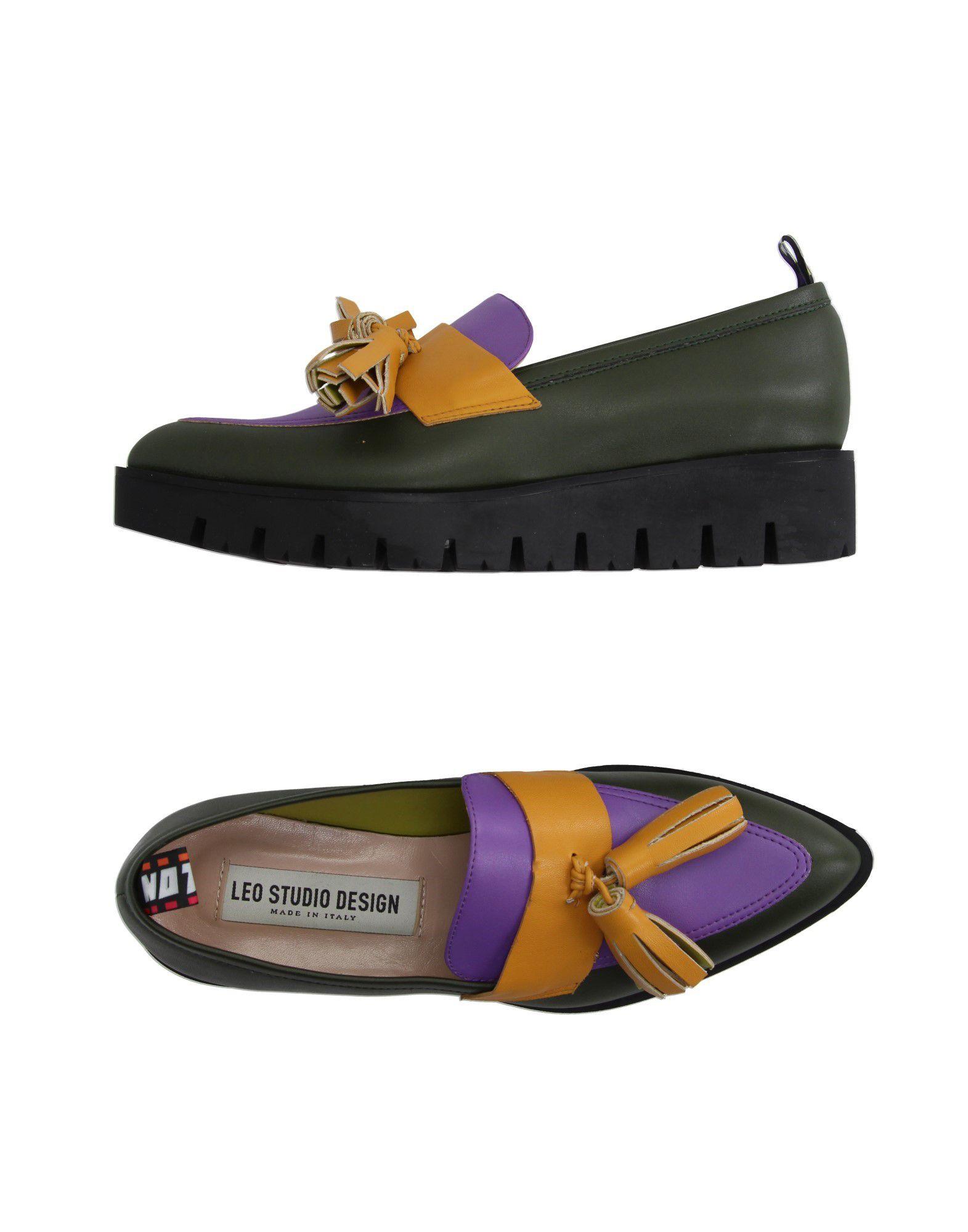 Leo Studio Design Mokassins Damen  Schuhe 11004567WL Gute Qualität beliebte Schuhe  e23690