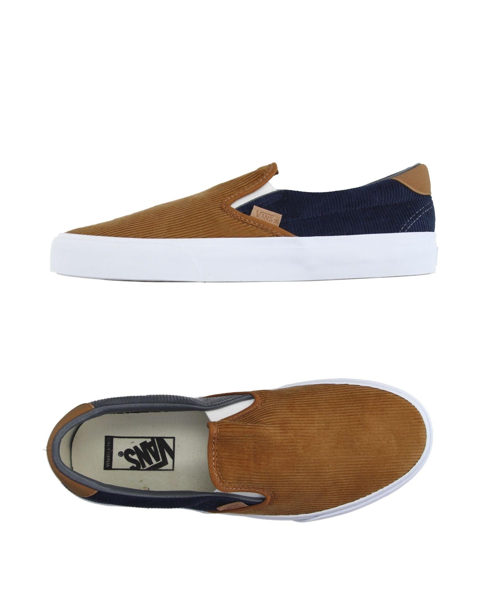 Rabatt echte Schuhe Vans California Sneakers Herren  11007027MG