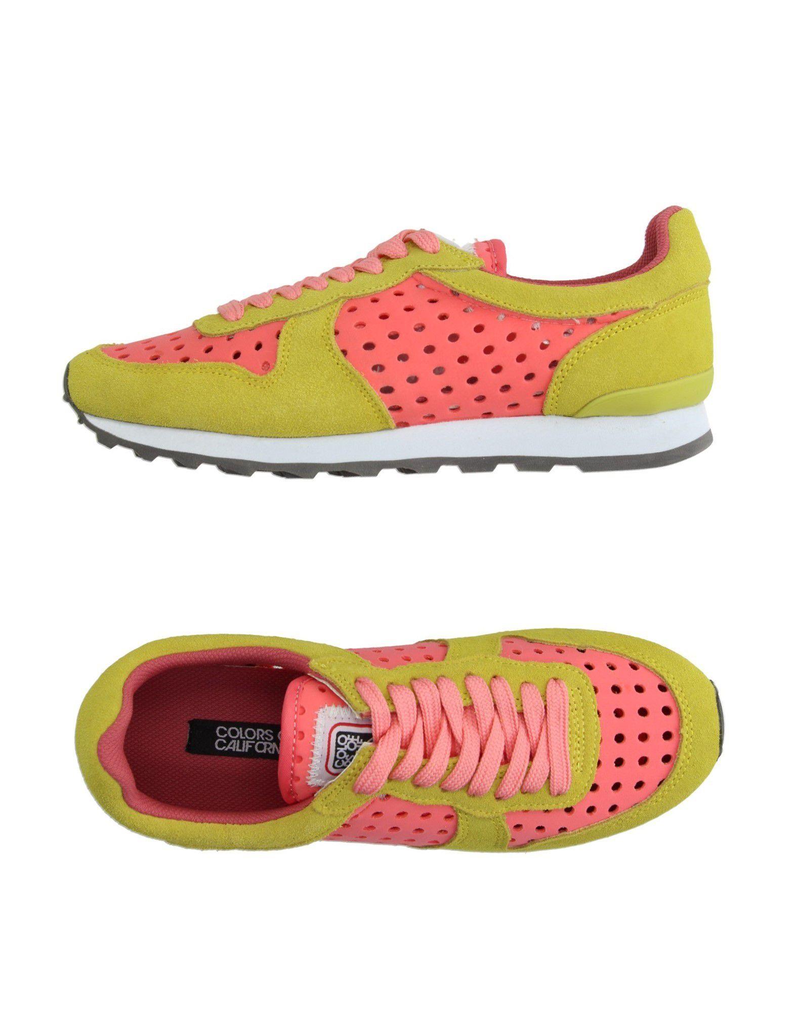 new arrival 7af78 632d9 COLORS OF CALIFORNIA Sneakers - Footwear | YOOX.COM
