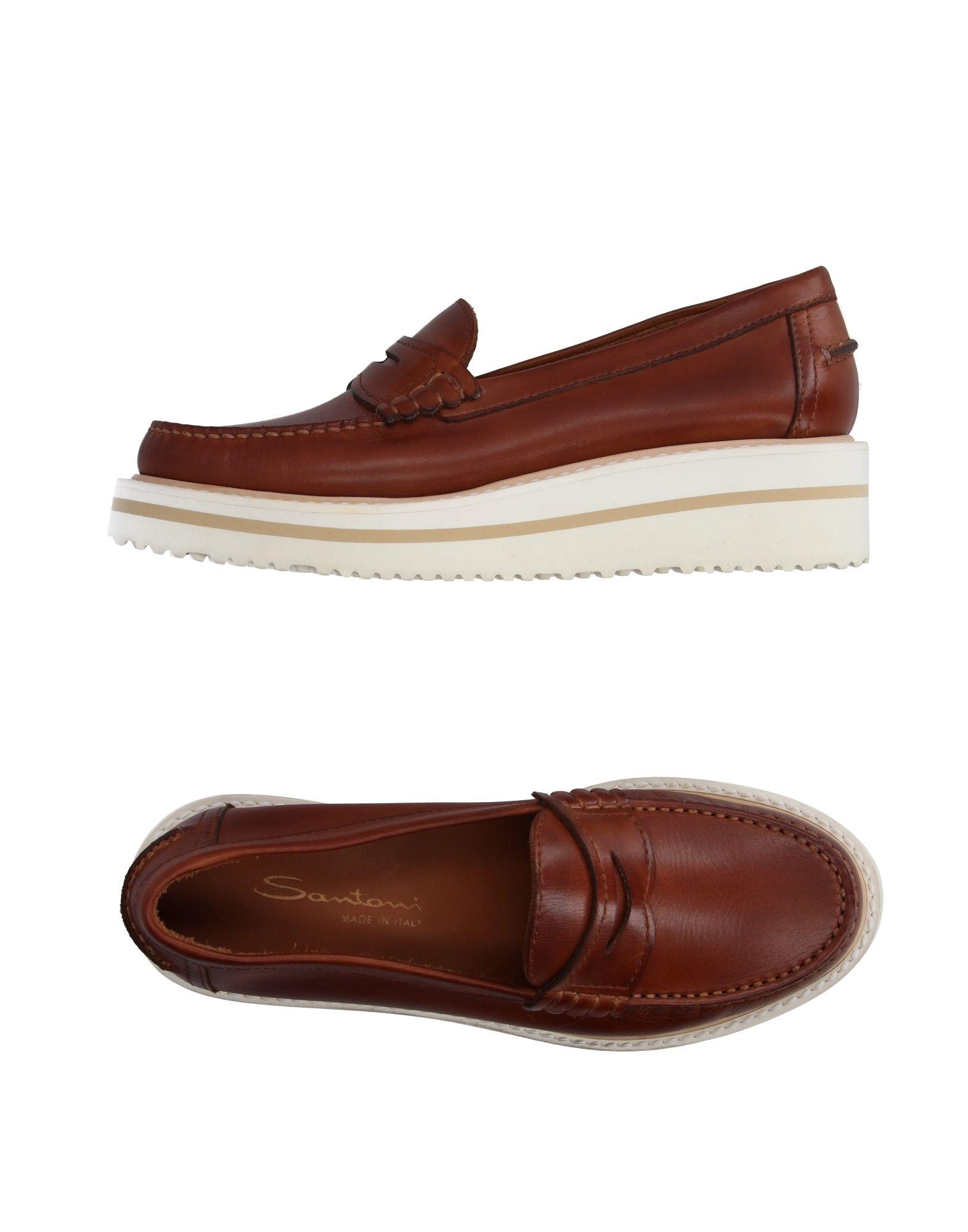 Rabatt Schuhe Santoni Mokassins Damen  11010169DV