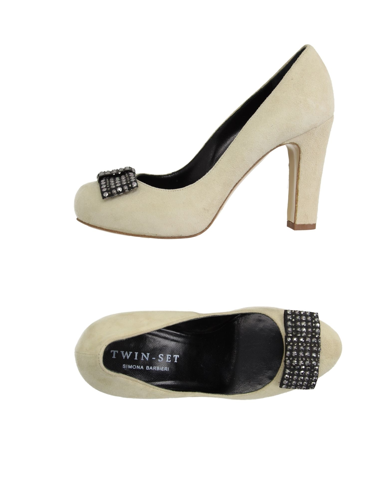 Venta de liquidación de temporada Zapato De De De Salón Twin-Set Simona Barbieri Mujer - Salones Twin-Set Simona Barbieri  Beige f8bbd5