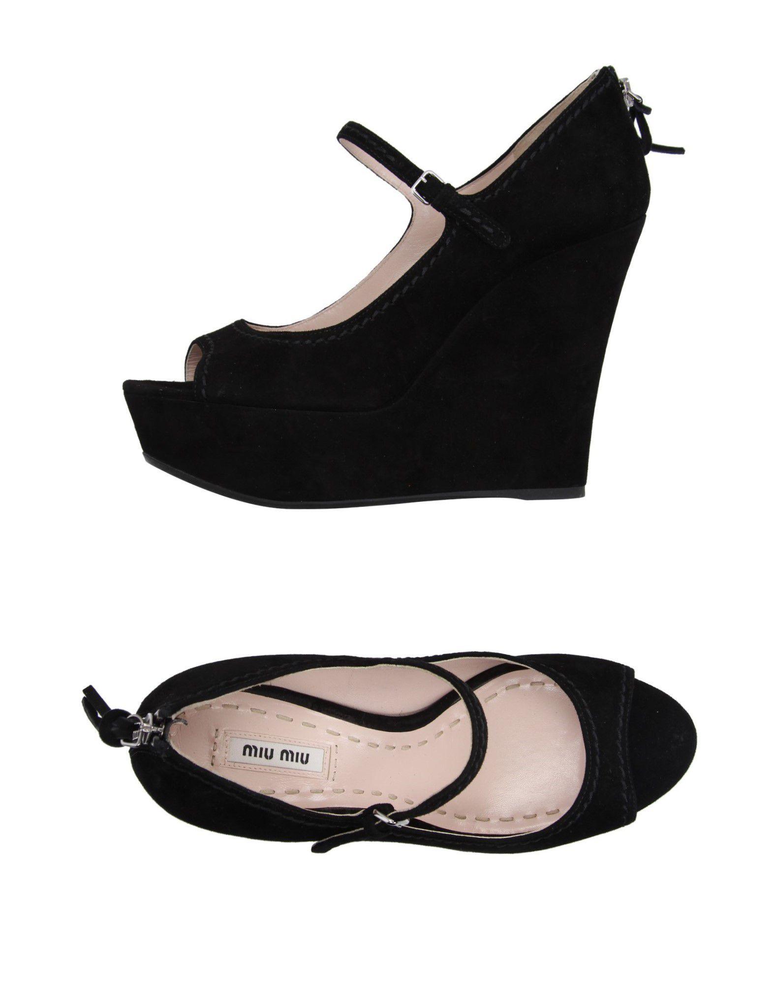 Rabatt Schuhe Miu Miu Pumps Damen  11015535PG