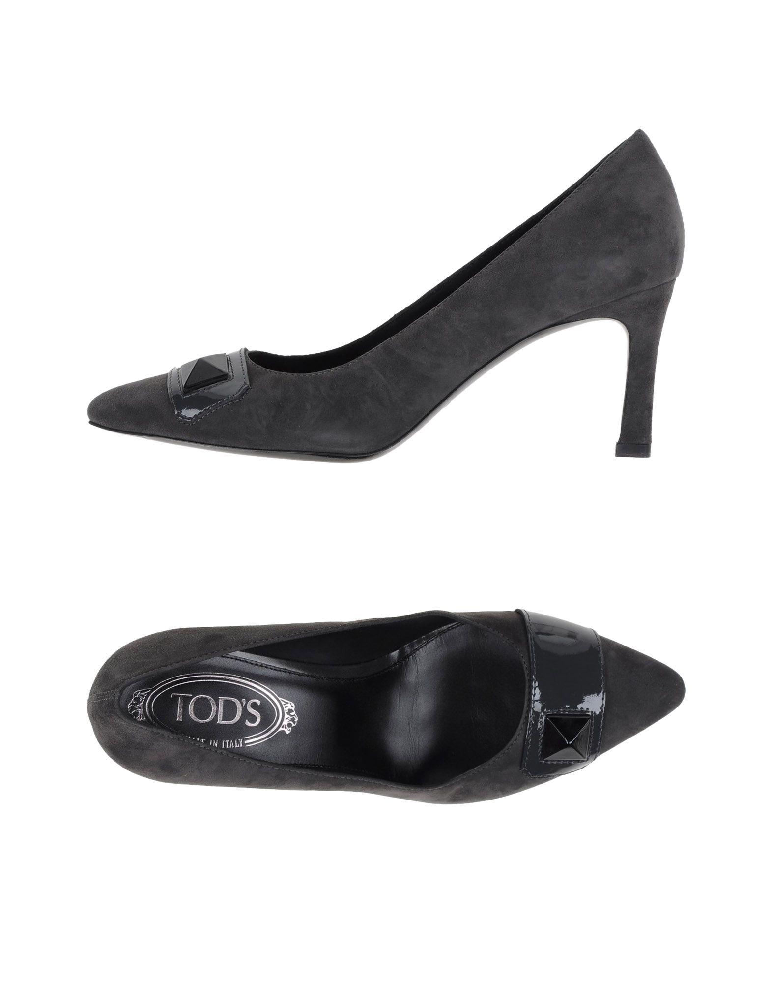 Venta de liquidación de temporada Zapato Tod's De Salón Tod's Zapato Mujer - Salones Tod's  Gris marengo 16d7b4