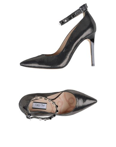 LUCY CHOI Pump in Steel Grey