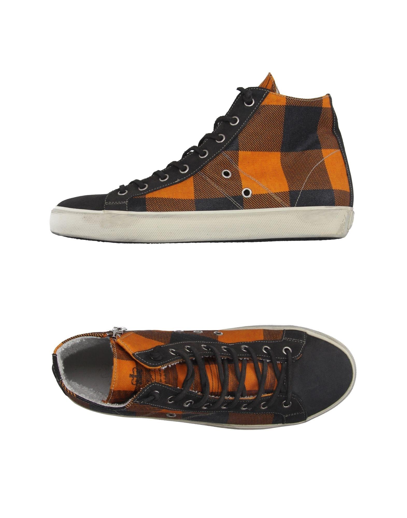 Leather Crown Sneakers Sneakers Crown Herren  11020641VI 27fd0f