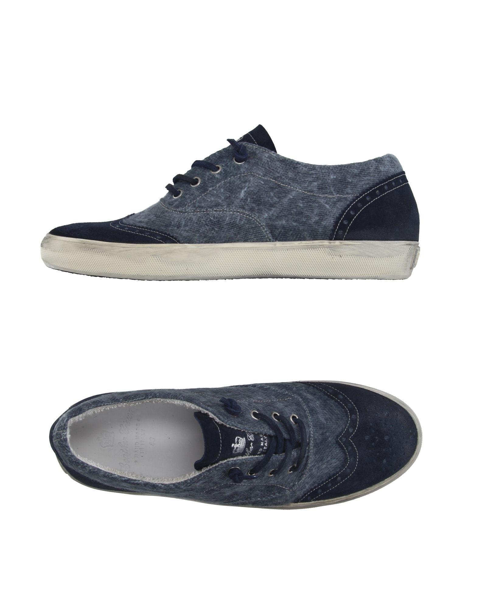 Rabatt Sneakers echte Schuhe Leather Crown Sneakers Rabatt Herren  11020659QH 161a4d