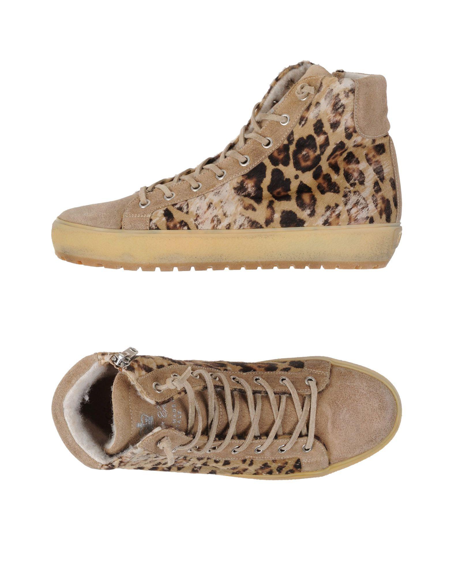 Leather Crown Sneakers Damen  11021284GGGut aussehende strapazierfähige Schuhe