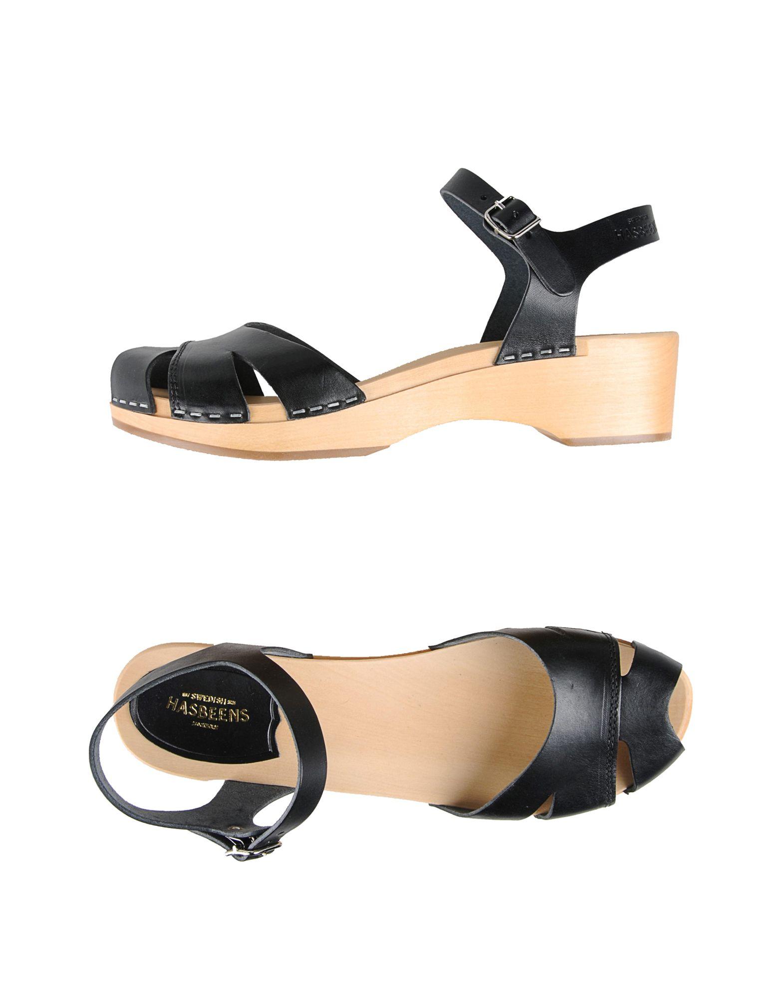 Gut um billige Sandalen Schuhe zu tragenSwedish Hasbeens Sandalen billige Damen  11021943JJ 1bead8
