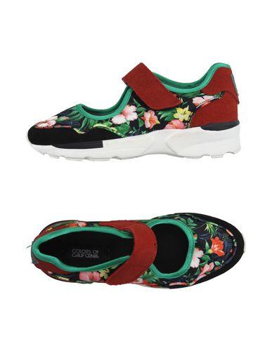 Los Los Los últimos zapatos de hombre y mujer Zapatillas Colors Of California Mujer - Zapatillas Colors Of California - 11025264HG Negro 0efa5a