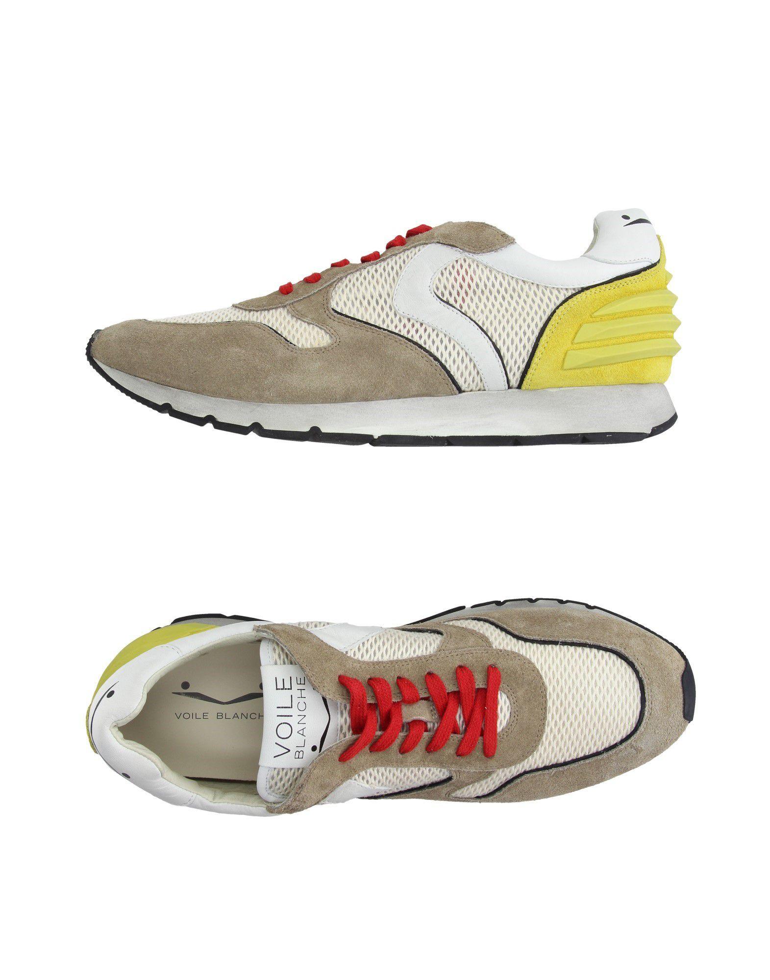 Rabatt echte Schuhe Voile 11027750OG Blanche Sneakers Herren  11027750OG Voile 23e620