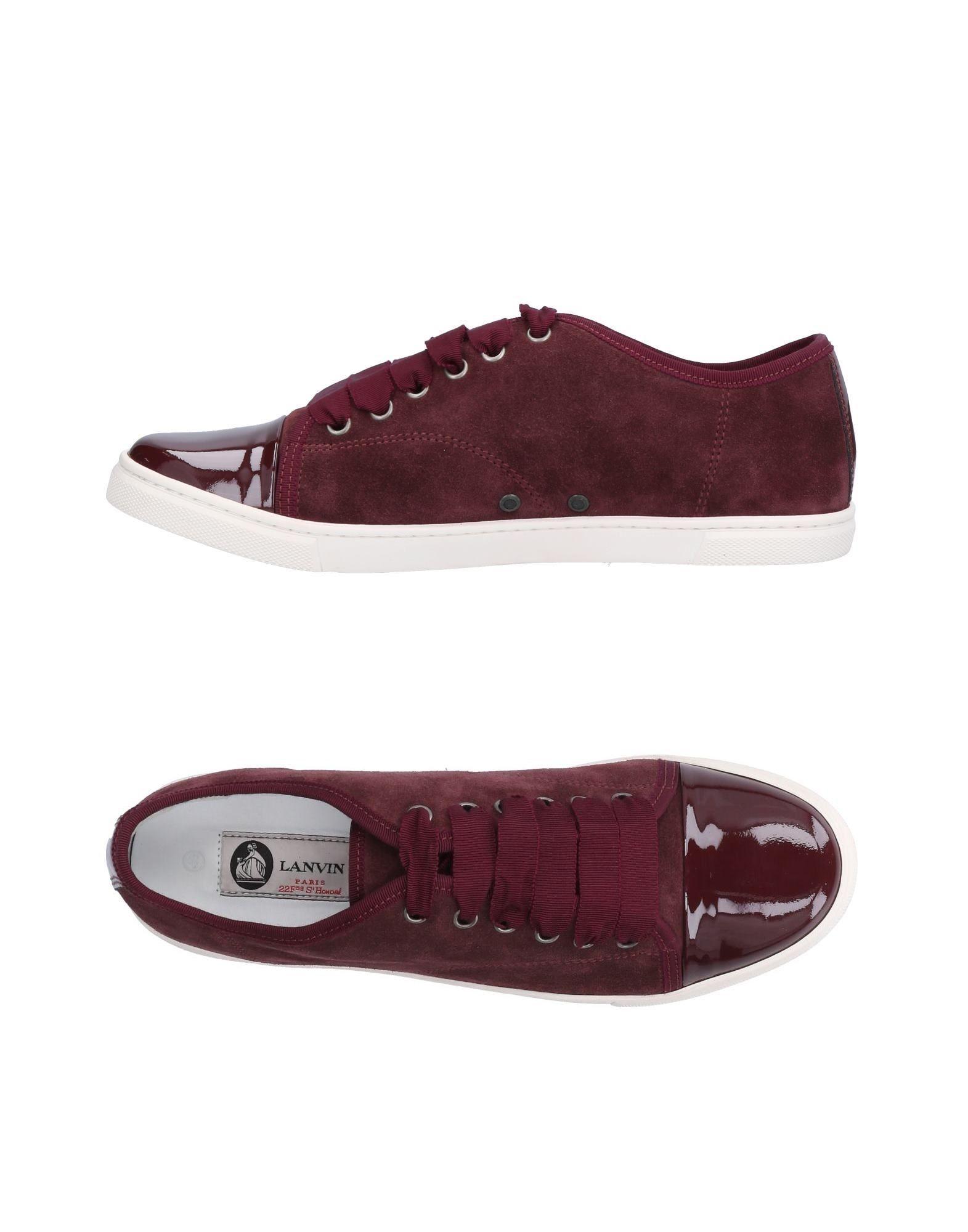 Lanvin Sneakers Damen  11028357QWGünstige gut aussehende Schuhe