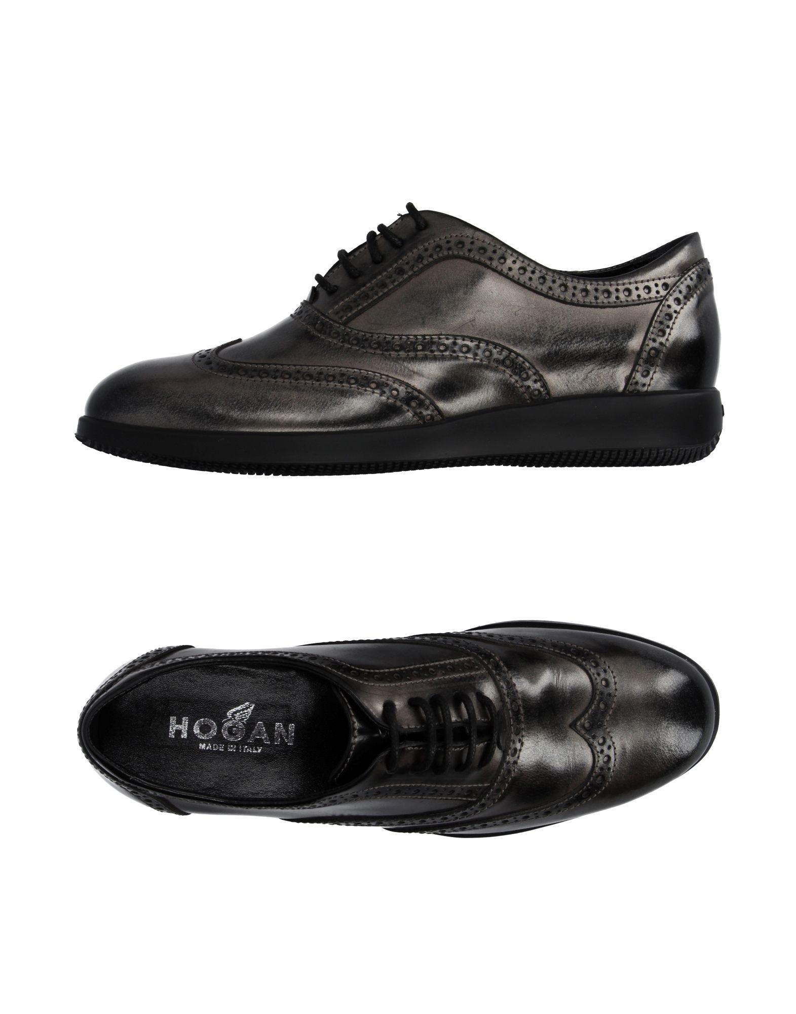 Stilvolle billige Schuhe Hogan Schnürschuhe Damen  11030064WC