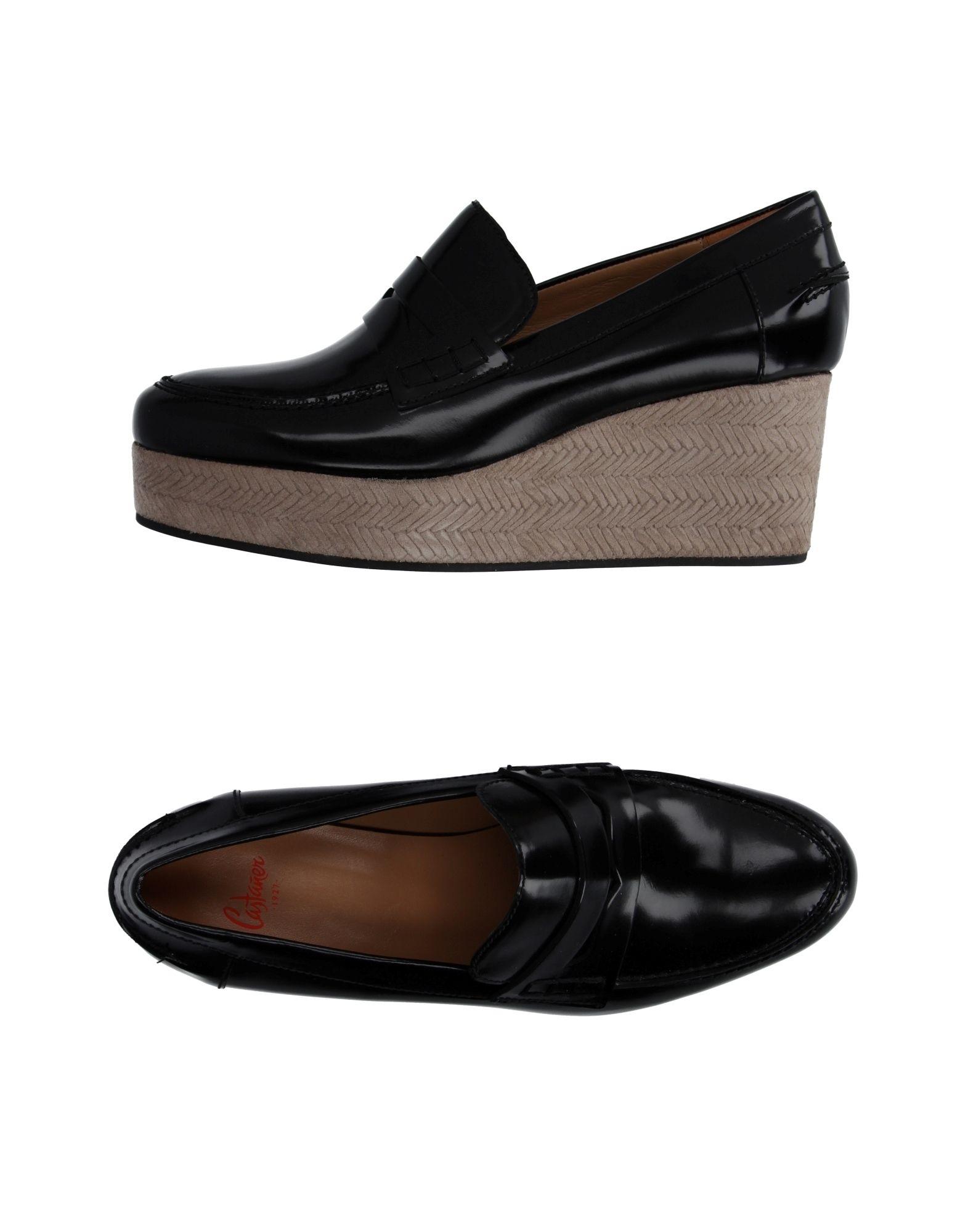 Stilvolle billige Schuhe Castañer Mokassins Damen  11030663GF